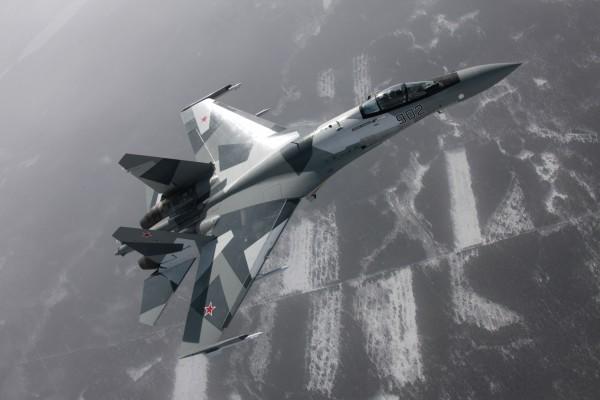 Истребитель Су 35