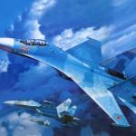 Лучший российский истребитель Су 27
