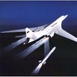 Стратегический сверхзвуковой бомбардировщикТу 160 «Белый Лебедь»