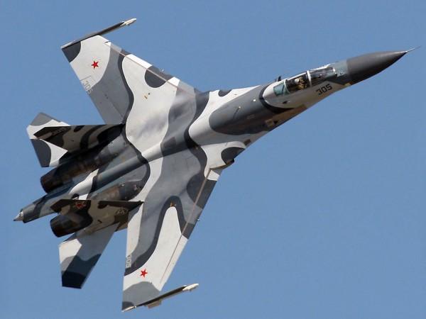 Истребитель Су 35 для китая