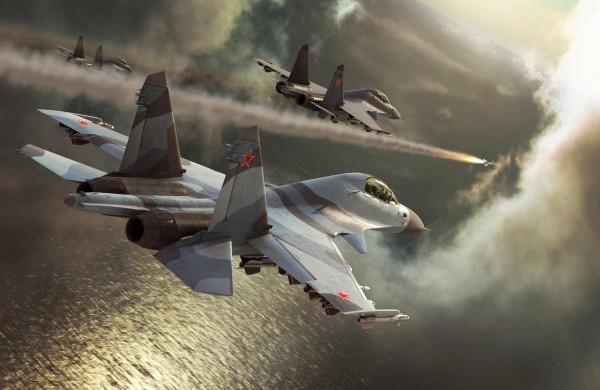 Су-30МКИ в бою