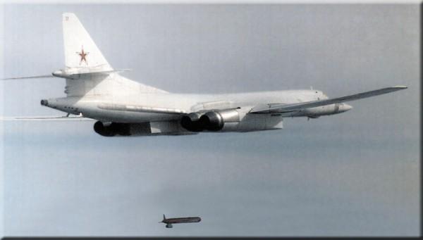 Ту-160 в воздухе