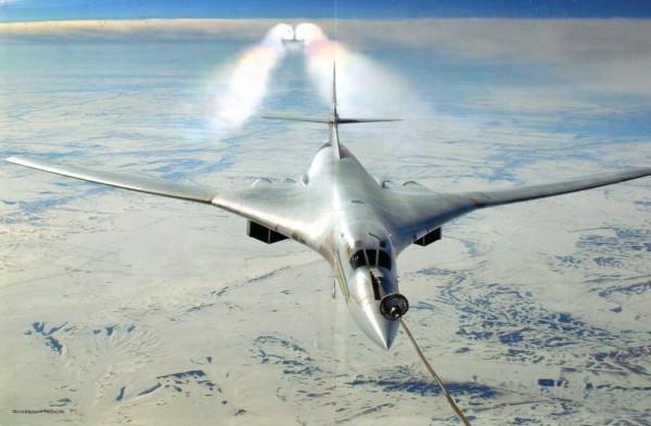Ту-160 дозаправка