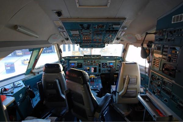 Ил 96 кабина