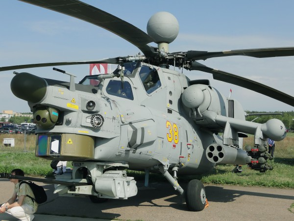Вертолёт Ми 28