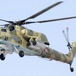 Летающий танк вертолёт Ми 28