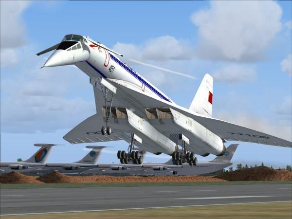 Самолёт Ту 144