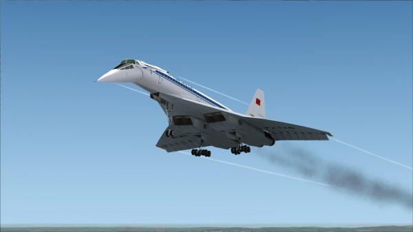 Полёт Ту 144