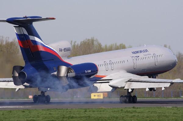 Самолёт Ту 154