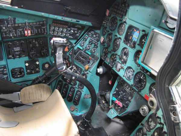 Ми 24 кабина пилота