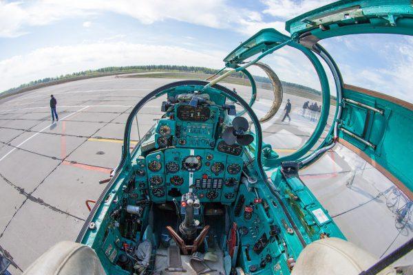 МиГ 21 кабина