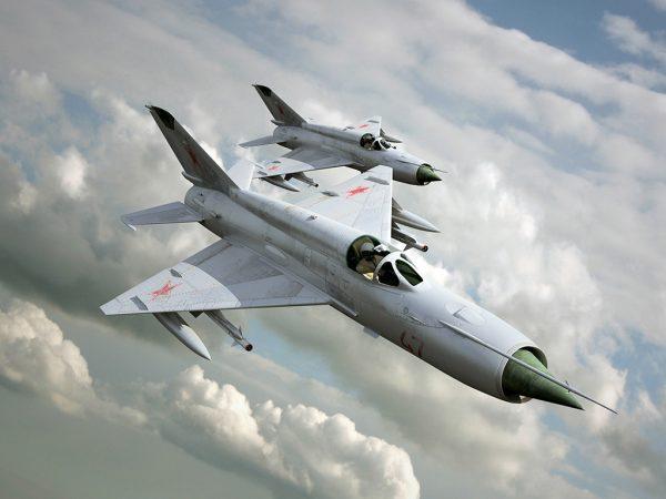 МиГ 21 и МиГ 35