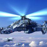 Вертолет Ка 58 «Черный призрак»
