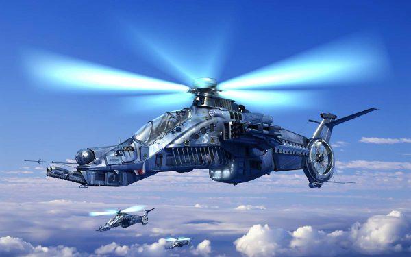вертолёт ка 58