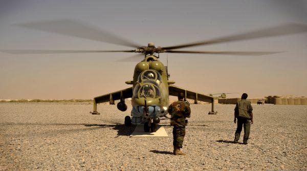 Ми 35 в Афганистане