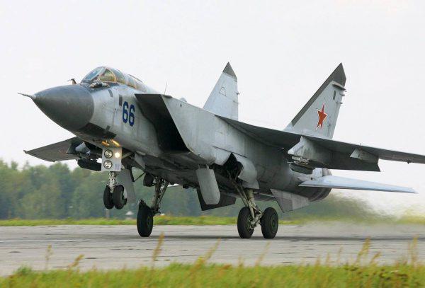 МиГ-31 взлёт