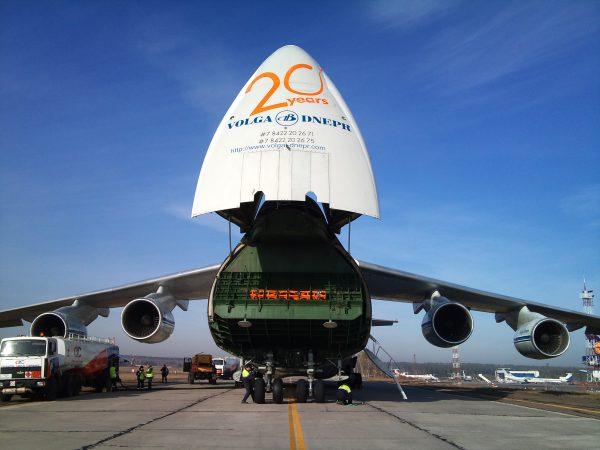 Ан-124 грузовой отсек