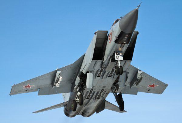 МиГ-31 вид снизу