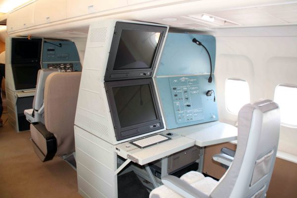 Салон самолёта Ту-214Р