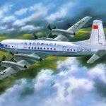 Самый безопасный пассажирский лайнер Ил-18