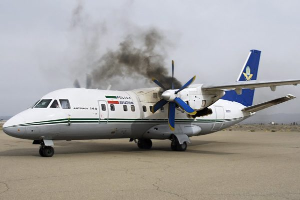 Ан-140 в Иране