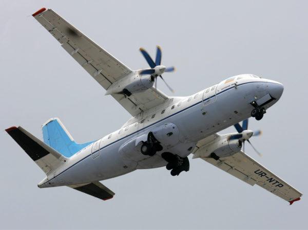 Ан-140 в небе