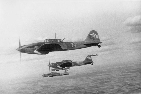 Ил-2 в небе