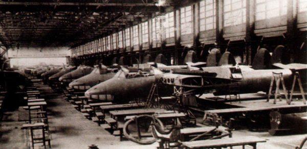 Конвейерная сборка Ту-2