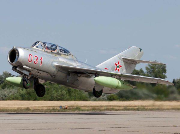 МиГ-15 взлёт