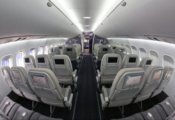 Пассажирский салон МС-21
