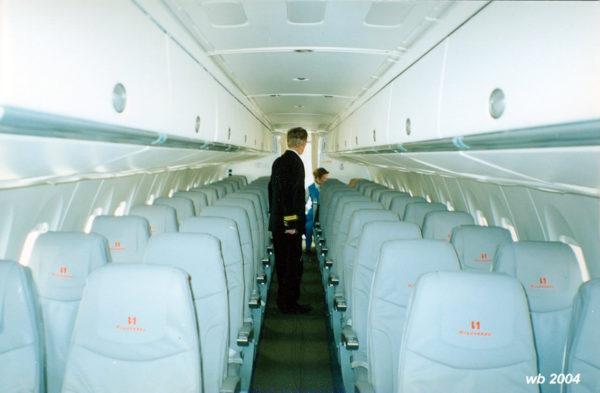 Салон лайнера Ан-140