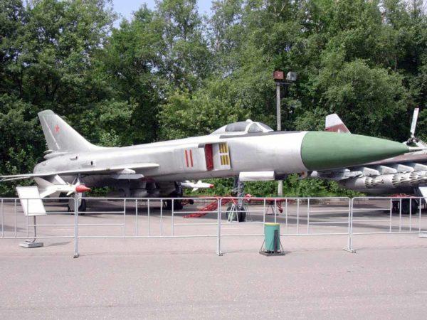 Су-15, выставка на Поклонной горе