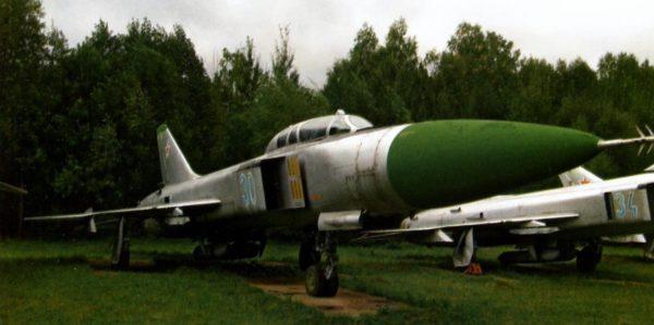 Су-15УМ из музея авиации ПВО на авиабазе Саваслейка