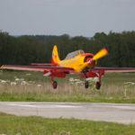 Як-52 на посадке