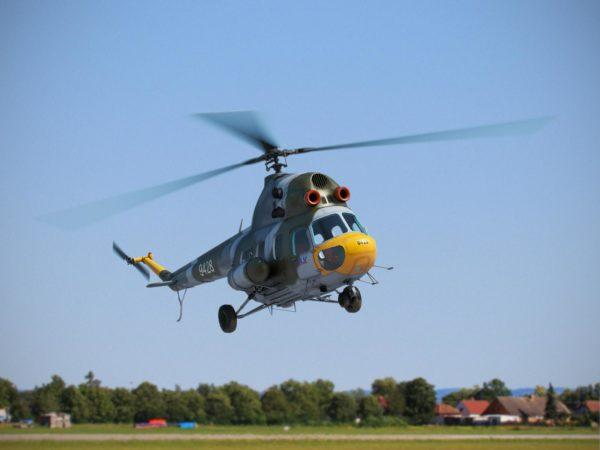 Ми-2 в небе