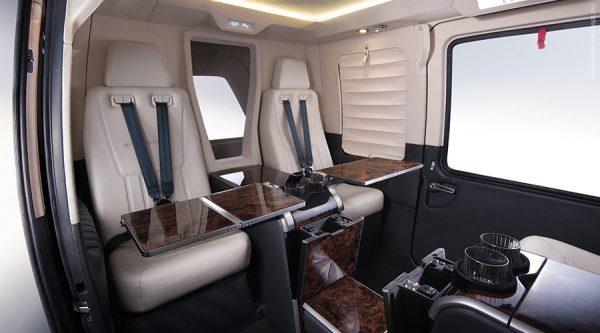 Один из модулей Ка-226Т для пассажиров