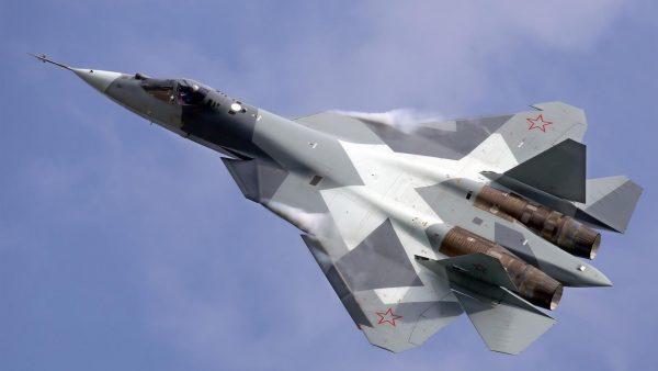 Российский Т-50 (ПАК ФА)