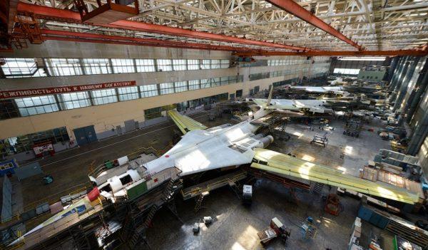 Сборка опытного образца Ту-160М2