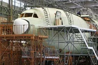 Сборочный стапель Ил-96