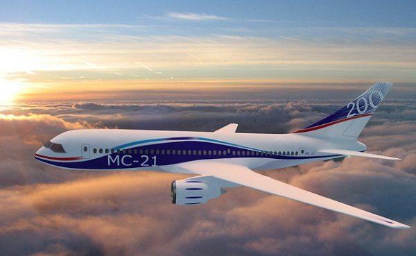 МС-21 в полёте