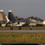 Впервые отработана дозаправка в воздухе для новейших истребителей Су-30СМ