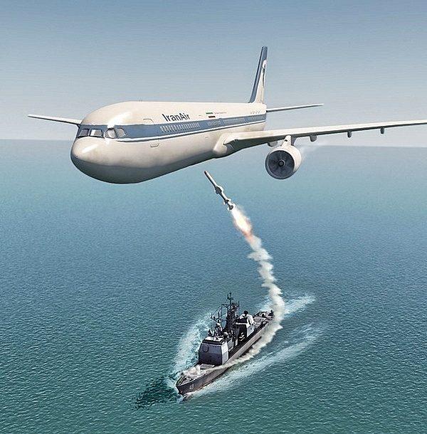Атака американского корабля