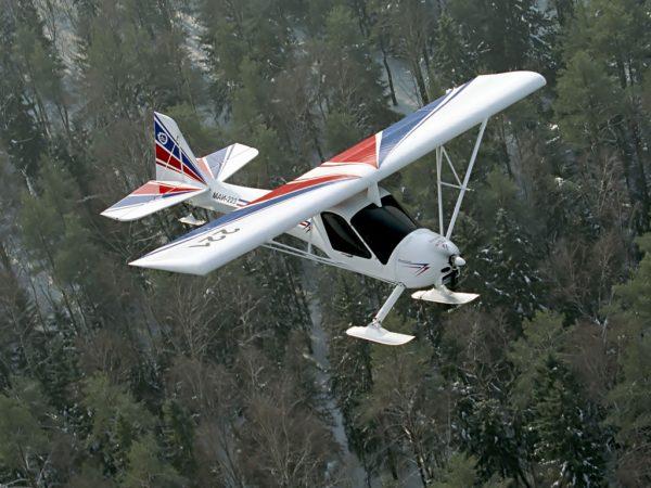 МАИ-223 на лыжах
