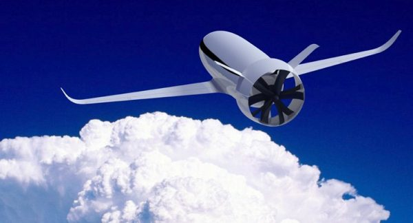 Будущий самолёт на электротяге