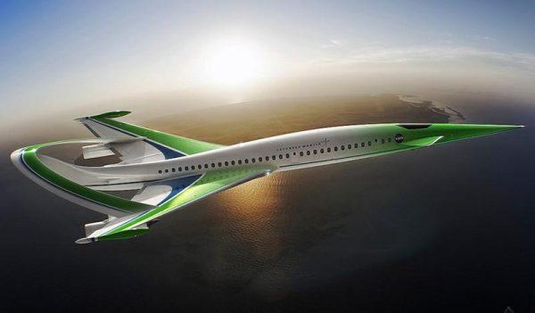 самолёт будущего