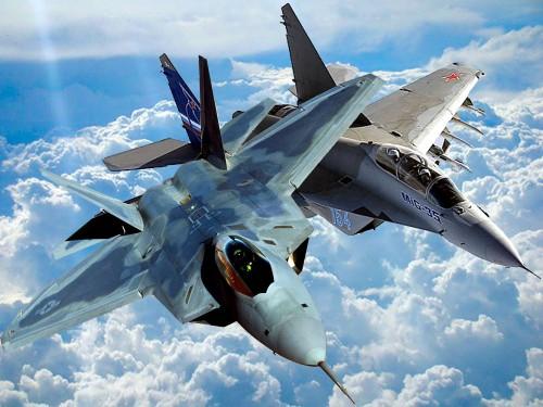 МиГ-35 B F-22