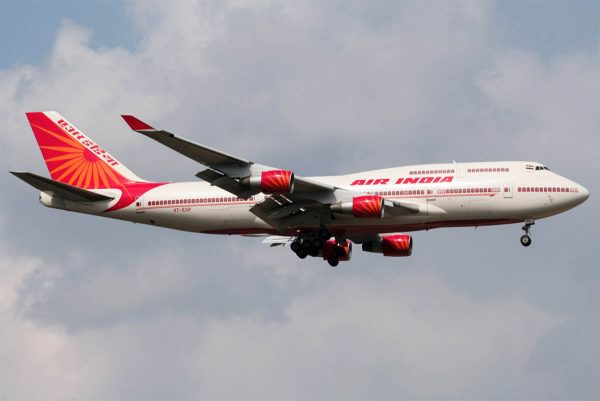 Боинг 747 Air India