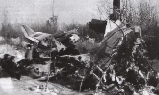 Крушение Як-40